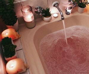bath, relax, and selfcare image