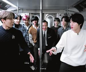 gif, bts map of the soul 7, and bts late show image