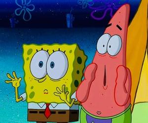 patrick, patrick star, and spongebob squarepants image