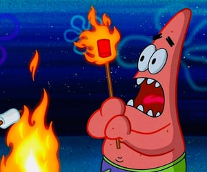 marshmallow, patrick, and spongebob squarepants image