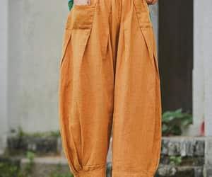 etsy, casual pants, and loose pants image