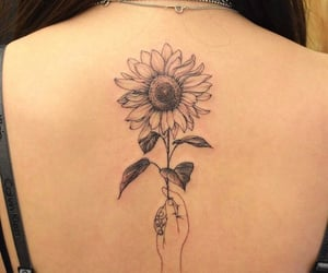 cool, flower, and sunflower image