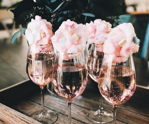 candy floss, prosecco, and champagne image
