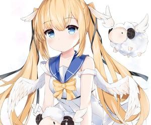 制服, anime, and cute image