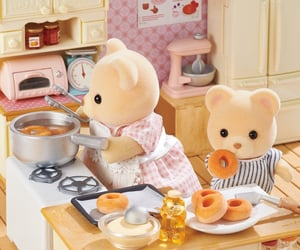 babie, beer, and calico critters image