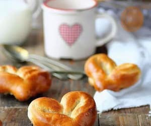 heart, food, and breakfast image