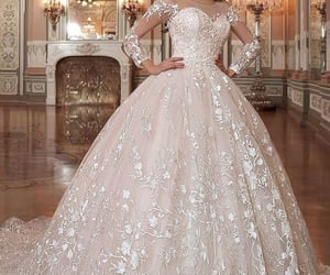 ball, elegant, and gown image