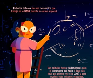 math, science, and katherine johnson image