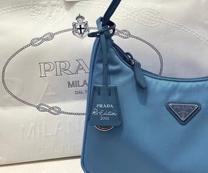 Prada, bag, and blue image