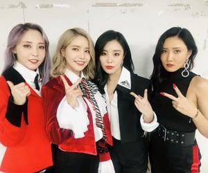 girl group, rainbow bridge world, and k-pop image