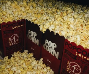 cinema, movie theater, and snacks image