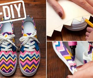 shoes, tutorial, and diy image