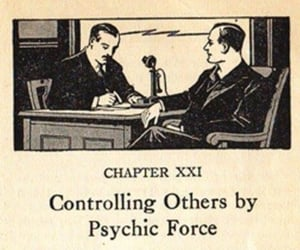 book and psychic image