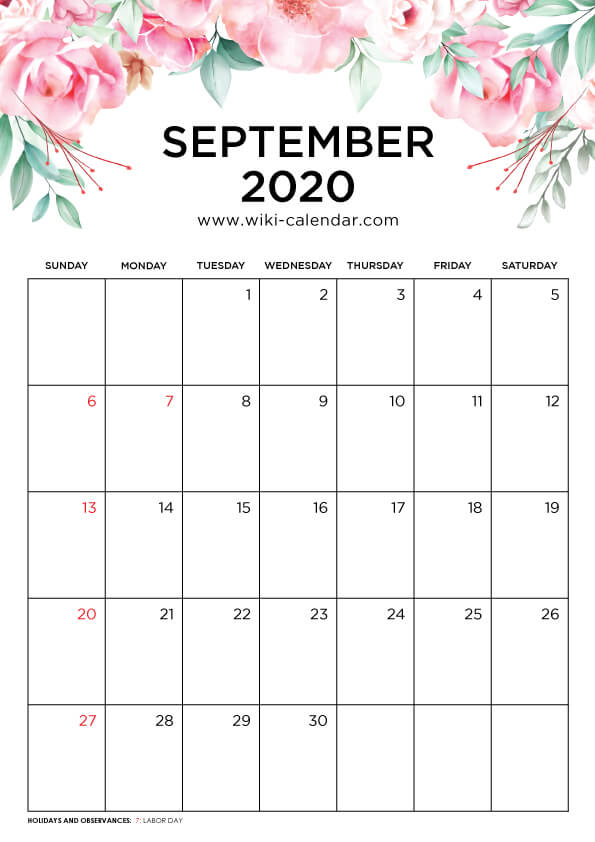 article, wikicalendar, and month of september image