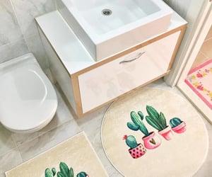 bathroom, Blanc, and bois image