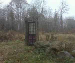 door, reality, and village image