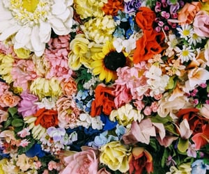aesthetic, flowerpower, and art image