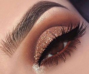 eyebrows, eyelashes, and on fleek image