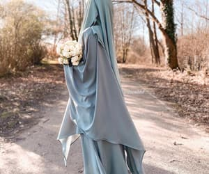 arab, islam, and niqab image