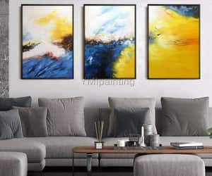 abstract art, Abstract Painting, and Oil Painting image