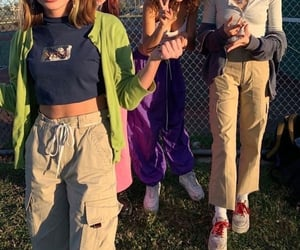 aesthetic, friends, and fashion image