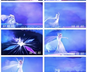 frozen, power, and elsa image