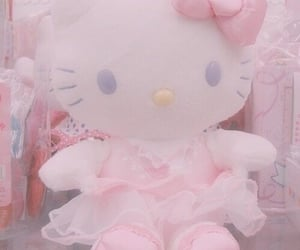 hello kitty, kawaii, and soft image