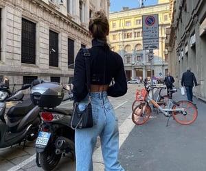 accessories, denim, and summer fashion image