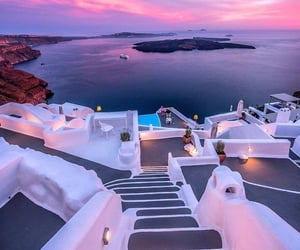 travel, beautiful, and Greece image