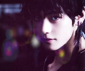 black swan, pastel black, and bts taehyung image