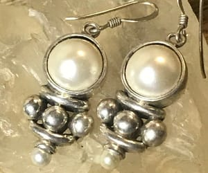 costume, ebay, and earrings image