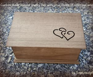 etsy, customized music box, and valentines day gift image