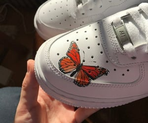 air force, butterfly, and art image