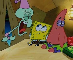 camping, patrick, and spongebob image