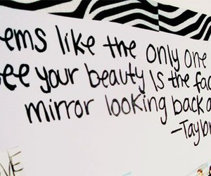 taylor, beauty, and quote image