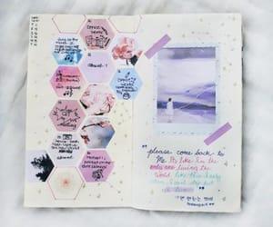 writing, bujo, and art image