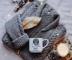 cozy, decoration, and white image