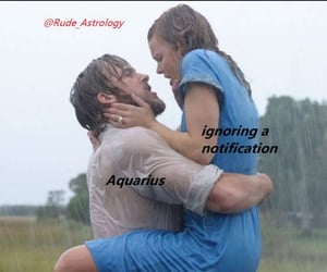 aquarius, astrology, and funny image