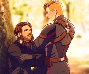 art, Marvel, and stucky image
