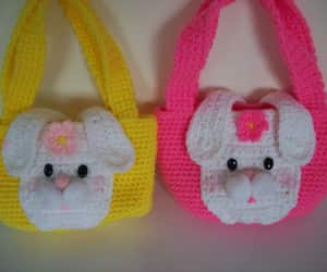 easter bunny, easterbunny, and small bags image