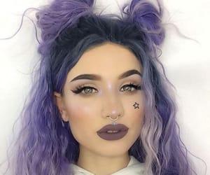 buns, fashion, and hair image