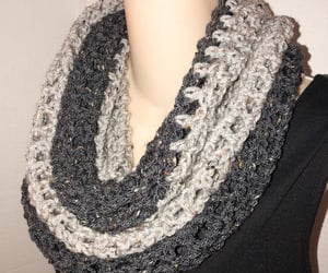 accessories, knit, and cowl image