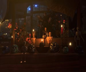candles, festival, and dark image