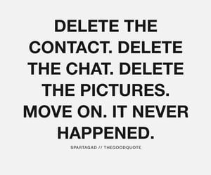 delete, sad, and inspiration image
