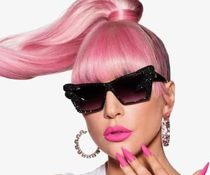 gaga, makeup, and hair image
