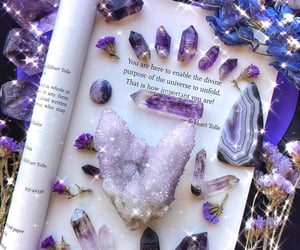 amethyst, crystal, and magic image