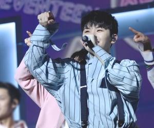 leader, jihoon, and Seventeen image