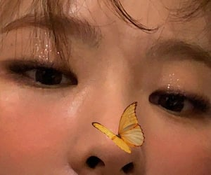 aesthetic, butterfly, and joy image