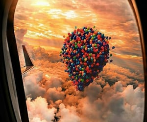 amazing, balloons, and sun image