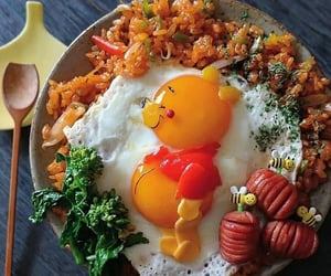 eggs, food, and yummy image